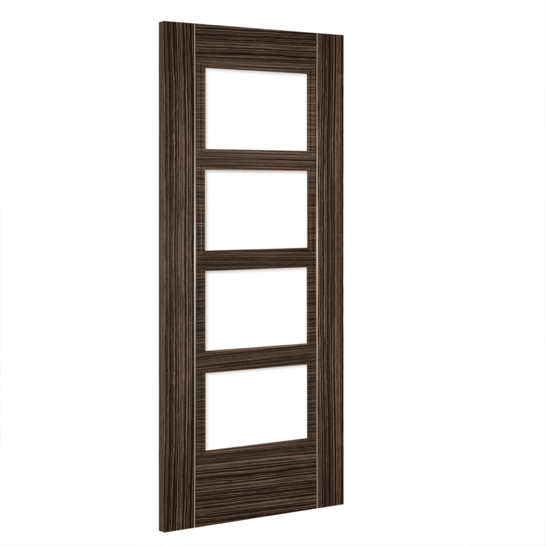 deanta calgary glazed interior abachi door