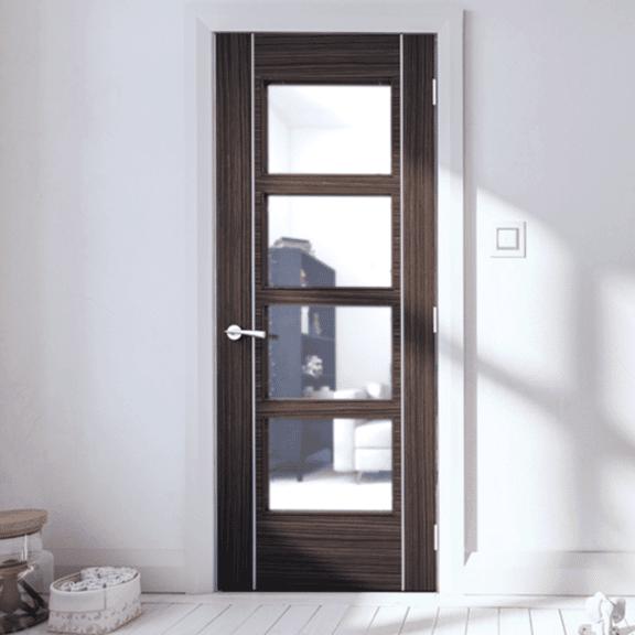 deanta calgary glazed internal abachi door