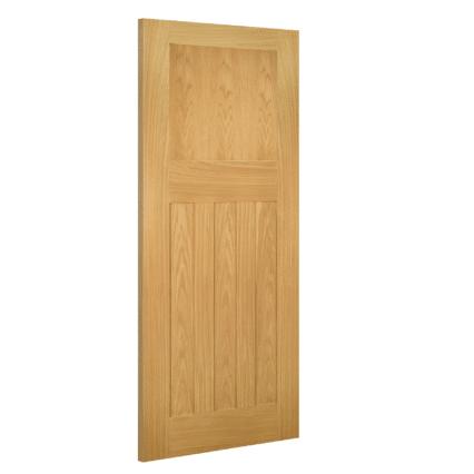 Deanta Cambridge Interior Oak Door - 1981mm-x-610mm-x-35mm