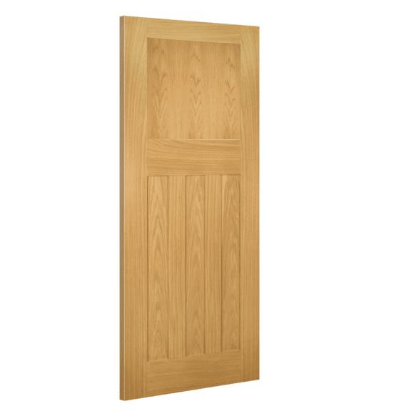 deanta cambridge interior oak door