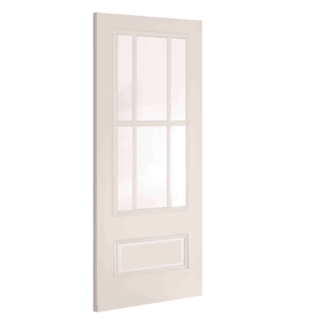 deanta canterbury white glazed internal door
