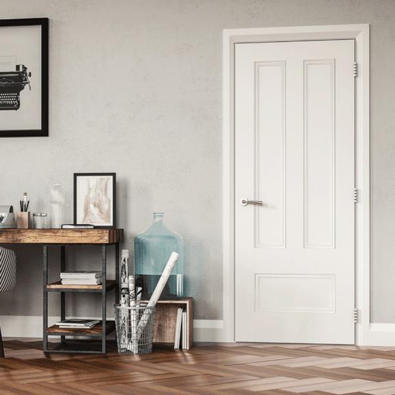 deanta canterbury white interior door