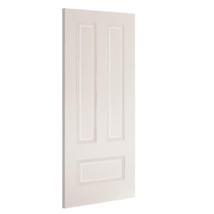 Deanta Canterbury White Primed Internal Door - 1981mm-x-610mm-x-35mm