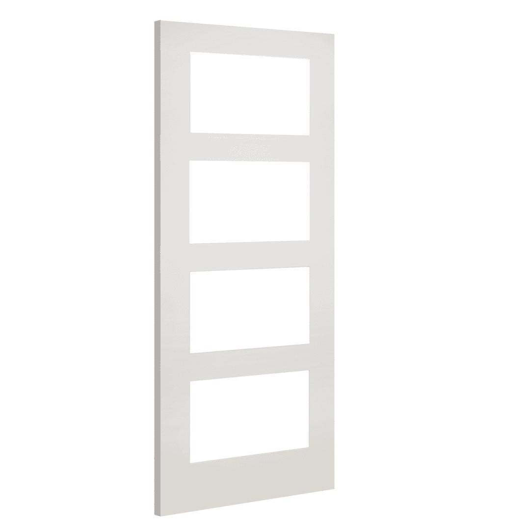 deanta coventry clear glazed white internal door