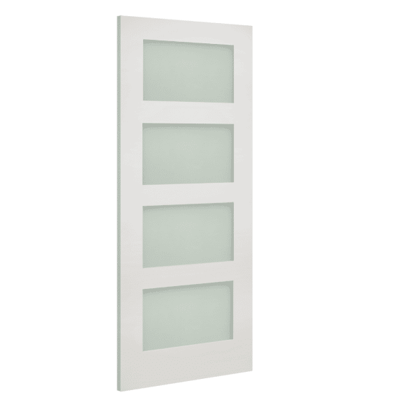 deanta coventry obscure glazed white internal door