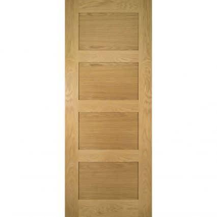 Deanta Coventry Unfinished Oak Internal Door - 1981mm-x-610mm-x-35mm