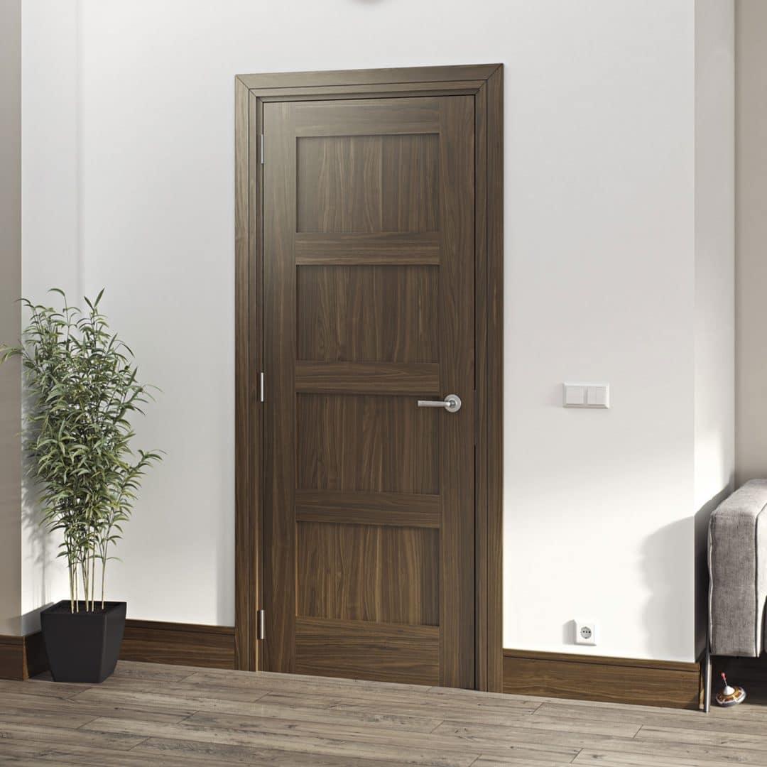 deanta coventry walnut internal door
