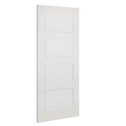 Deanta Coventry White Primed Internal Door - 1981mm-x-610mm-x-35mm