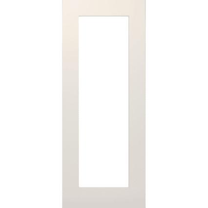 Deanta Denver White Primed Glazed Interior Door - 1981mm-x-686mm-x-35mm