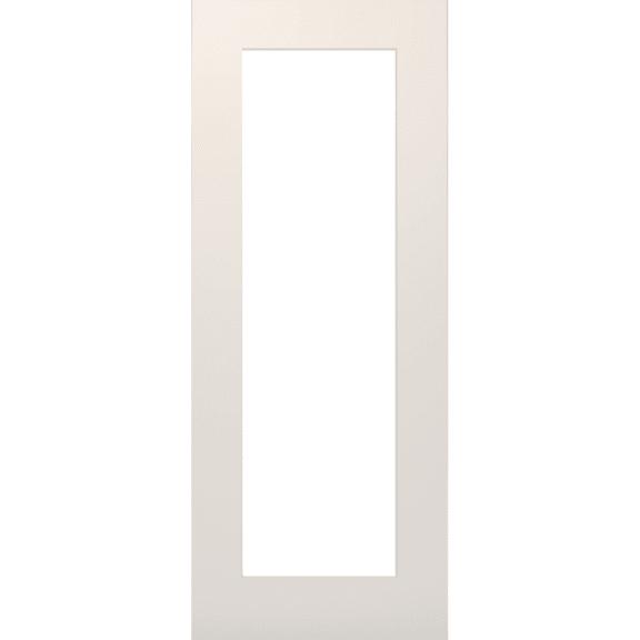 deanta denver clear glazed white interior door