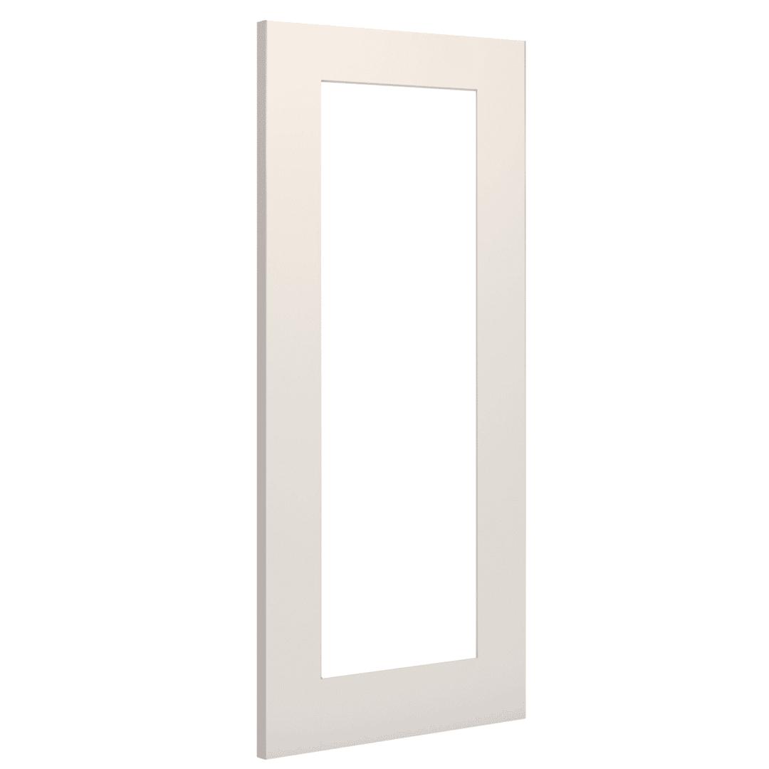 deanta denver clear glazed white internal door