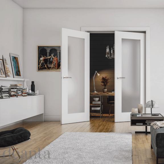 deanta denver obscure glazed white interior door