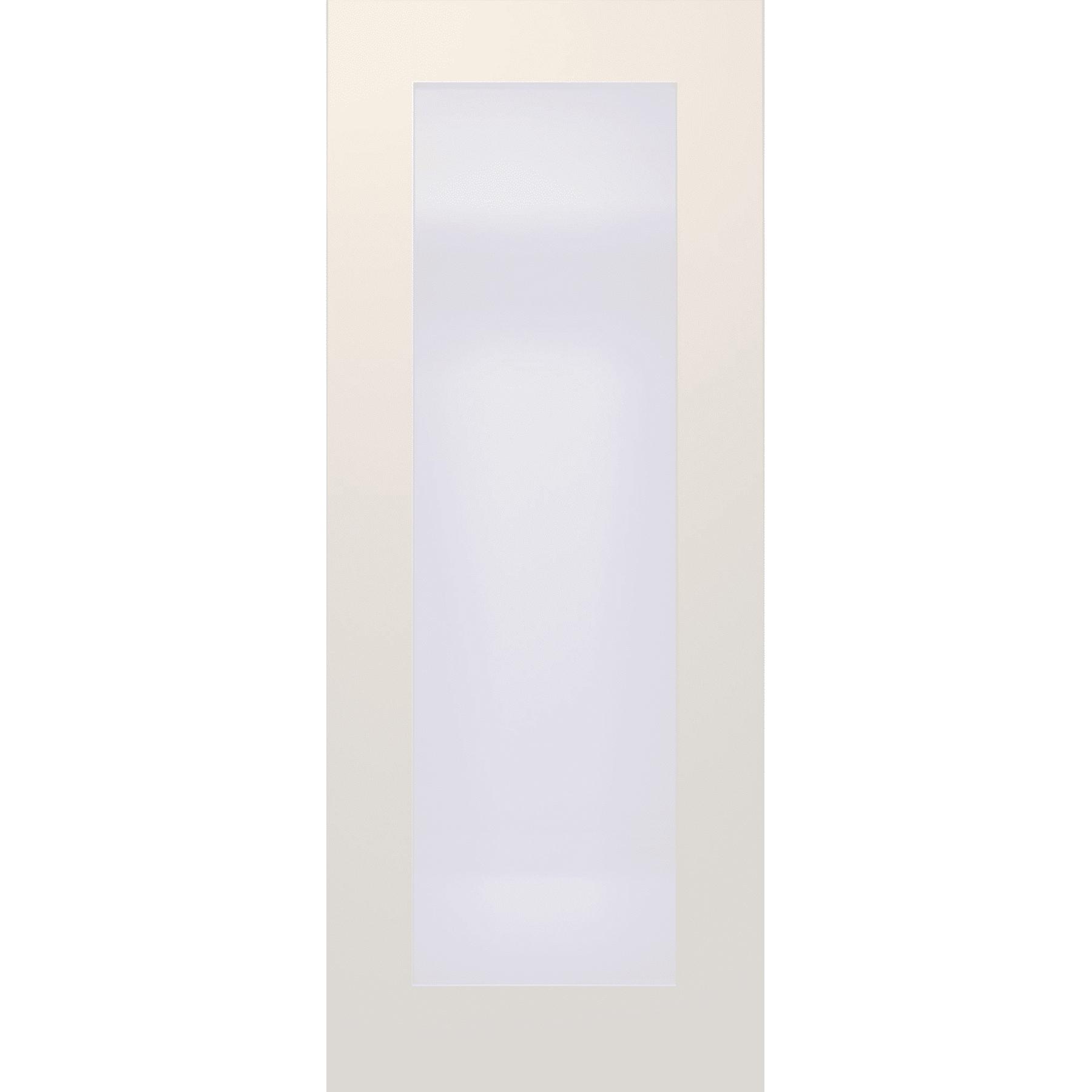 online retailer 094d2 0d8a1 Deanta Denver White Primed Frosted Glazed Interior Door