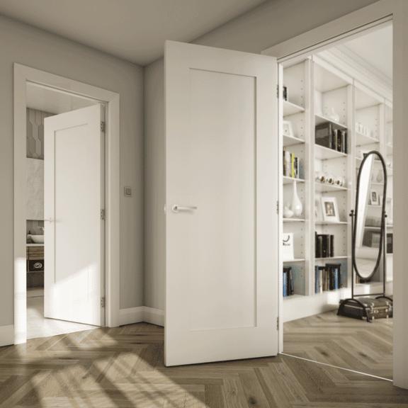deanta denver primed white interior door