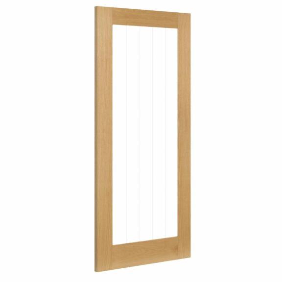 deanta ely oak glazed 1l interior door