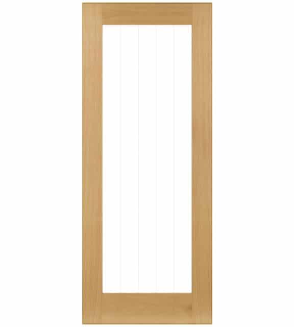 deanta ely oak glazed 1l internal door