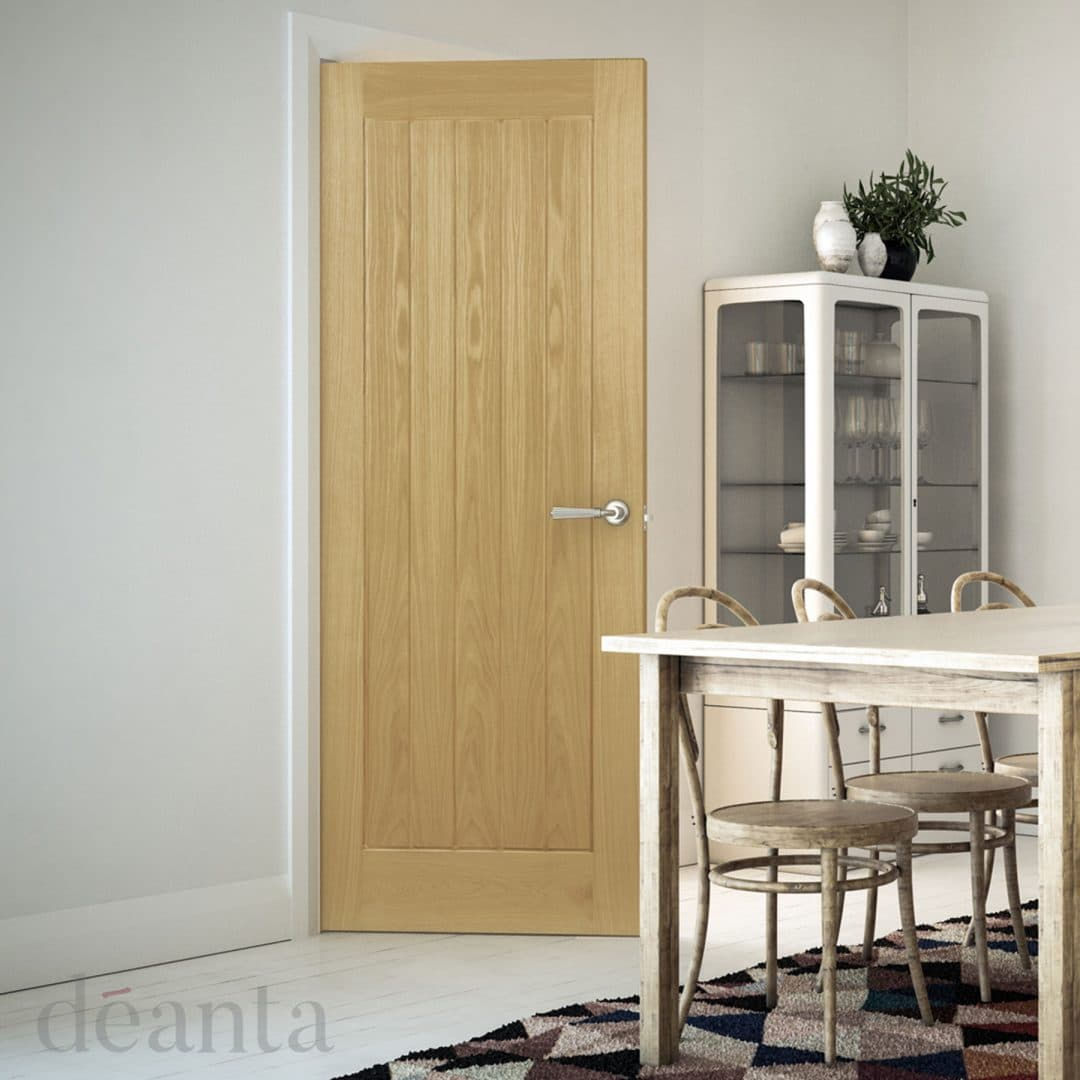 deanta ely oak interior door