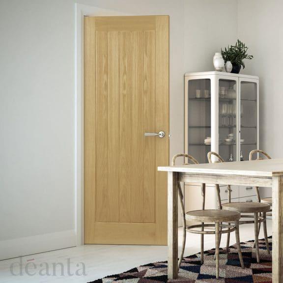 deanta ely oak interior door