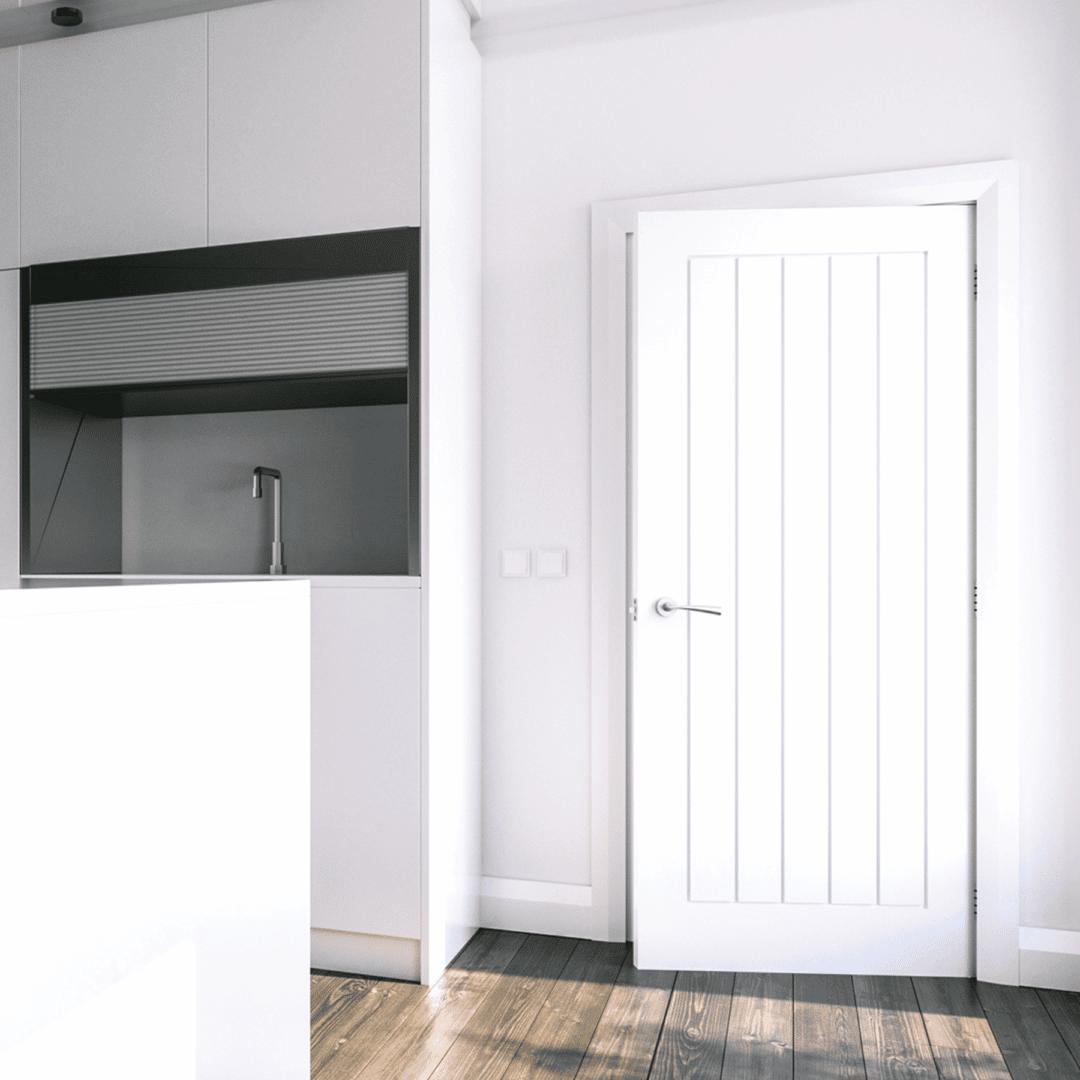 deanta ely white prime interior door