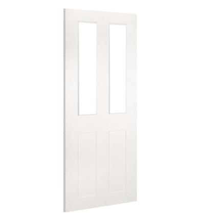 Deanta Eton White Glazed Primed Internal Door - sale-door-1981mm-x-838mm-x-35mm-78-x-33