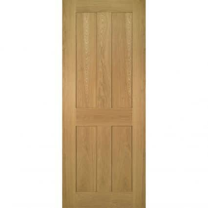 Deanta Eton Oak Internal Fire Door - 1981mm-x-610mm-x-45mm-78-x-24