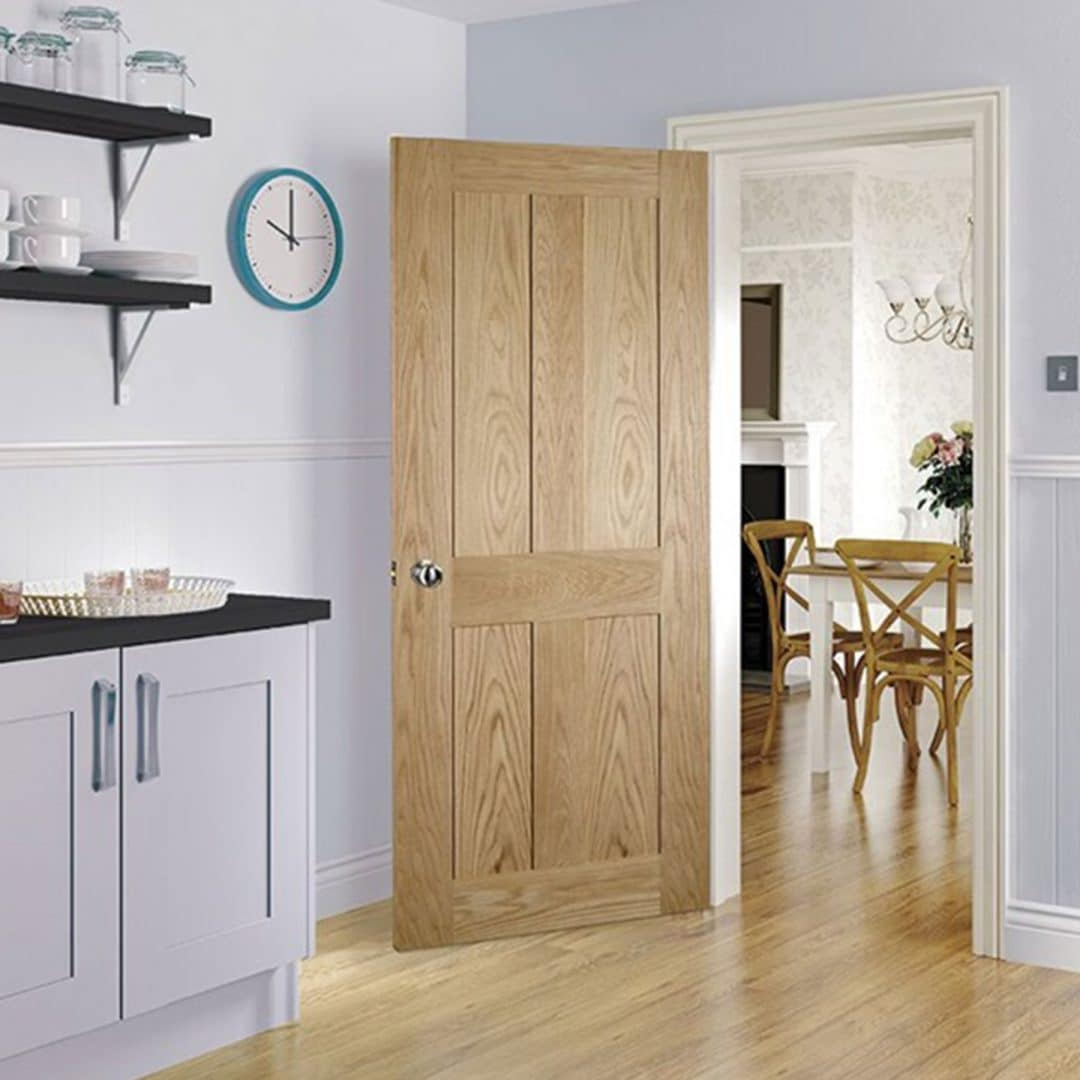 deanta eton unfinished oak door