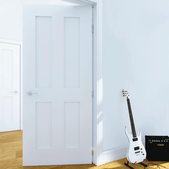 deanta eton white prime interior door