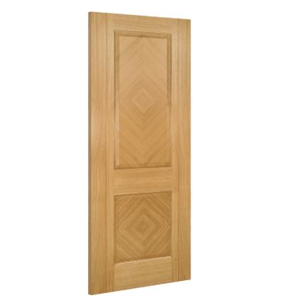 Deanta Kensington Interior Oak Door - 1981mm-x-533mm-x-35mm