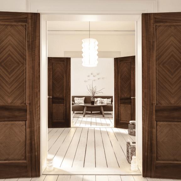 deanta kensington internal walnut door