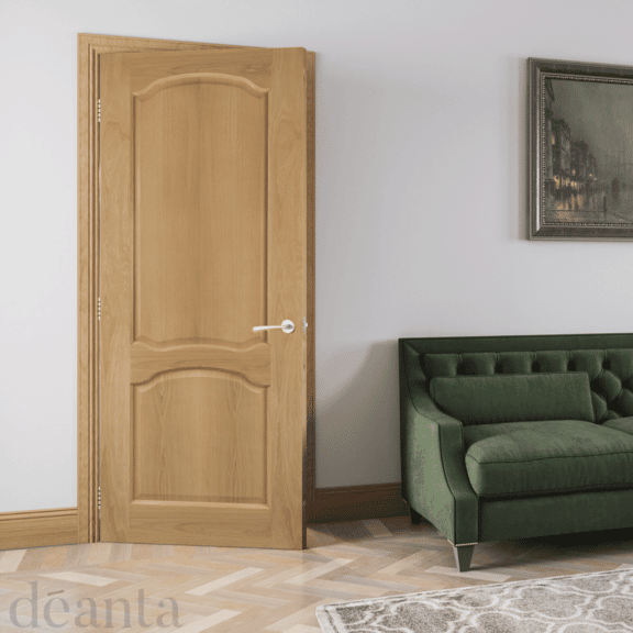 deanta louis unfinished oak door