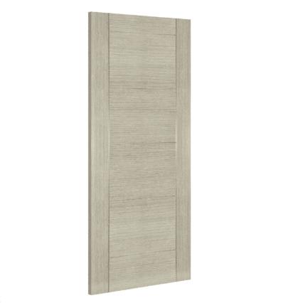 Deanta Montreal Interior Light Grey Ash Door - 1981mm-x-610mm-x-35mm