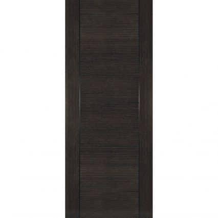 Deanta Montreal Dark Grey Ash Internal Fire Door - 1981mm-x-610mm-x-45mm-78-x-24