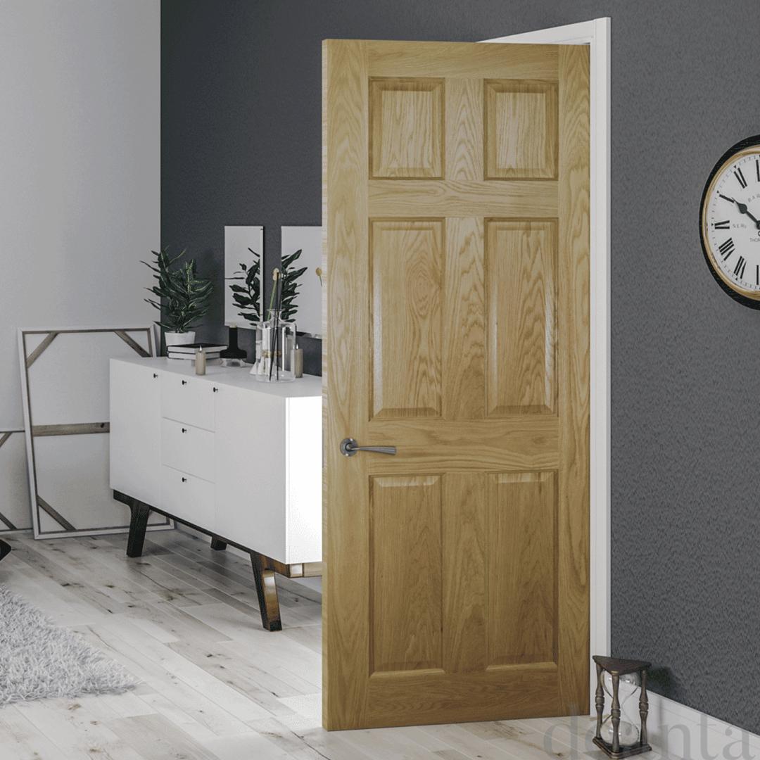 deanta oxford internal oak door
