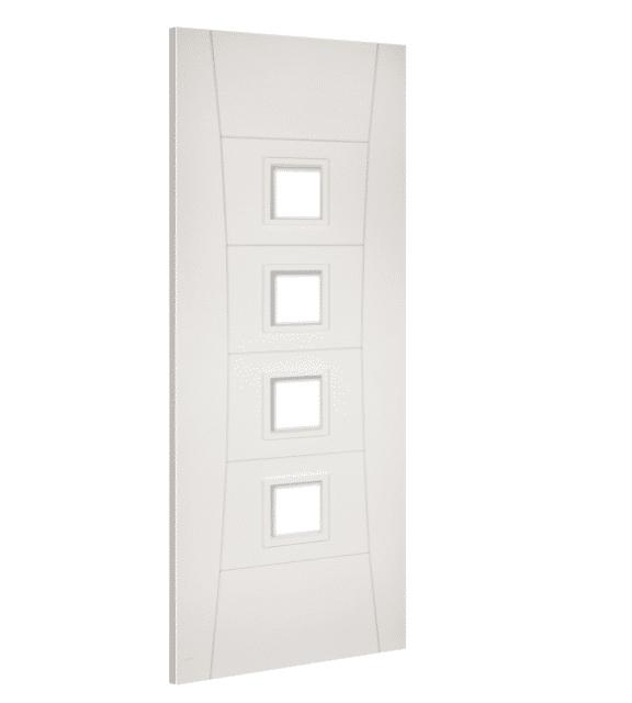 deanta pamplona glazed interior white door