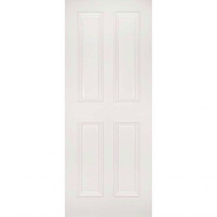 Deanta Rochester White Primed Internal Door - 1981mm-x-610mm-x-35mm