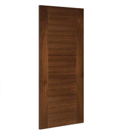 Deanta Seville Interior Walnut Door - 1981mm-x-533mm-x-35mm