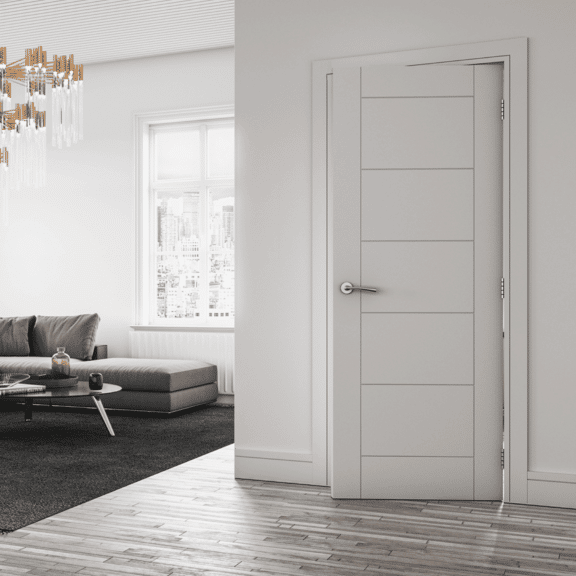 deanta seville interior white primed door