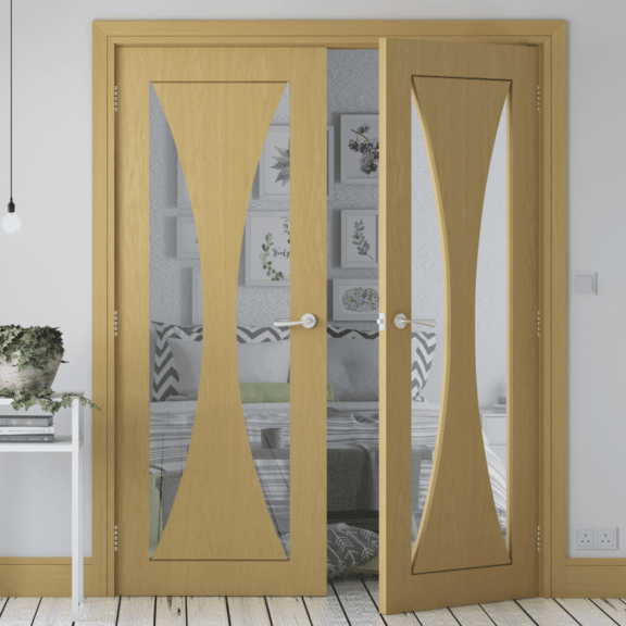 deanta sorrento glazed interior door