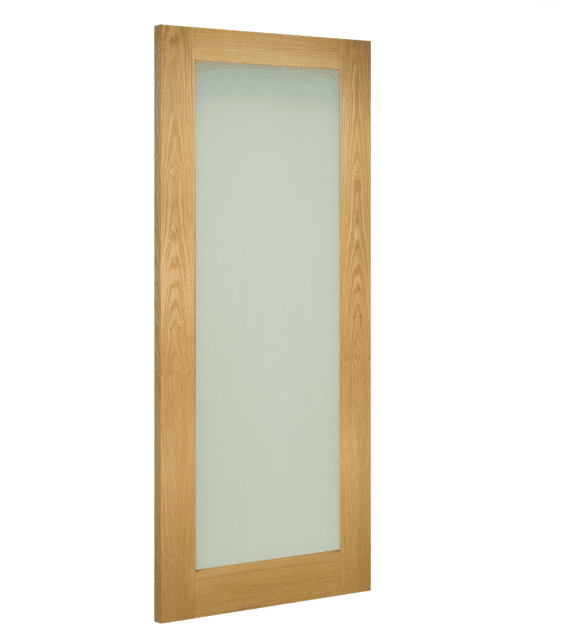 deanta walden obscure glazed interior oak door