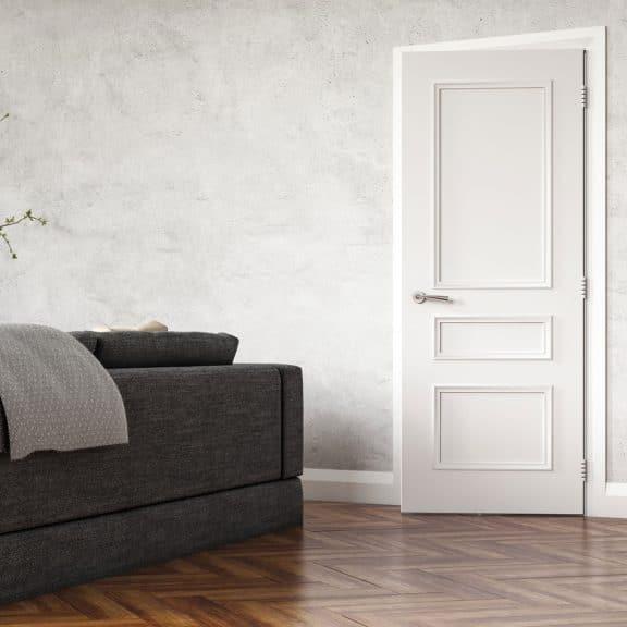 deanta windsor white primed interior door