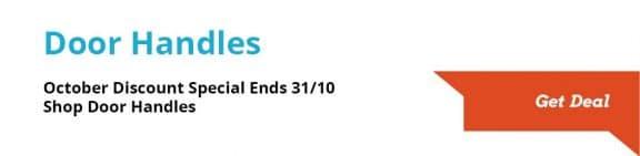 door handle discount until 31 october