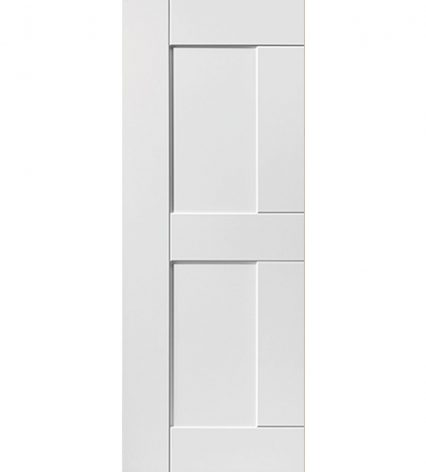 Eccentro White Internal Door - 1981mm-x-610mm-x-35mm