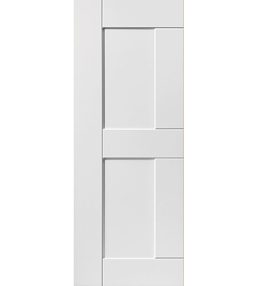 eccentro white interior door