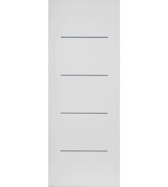 eco blanco white interior door