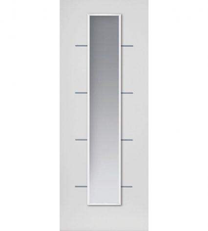 JB Kind Eco Blanco White Internal Glazed Door - 1981mm-x-686mm-x-35mm