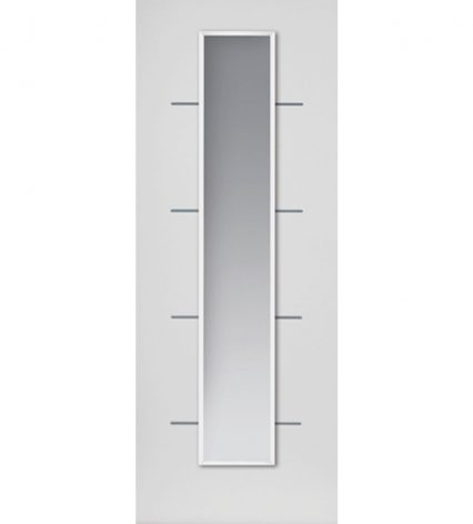 Eco Blanco White Internal Glazed Door - 1981mm-x-686mm-x-35mm