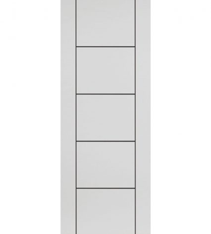 Eco Linea White Internal Door - 1981mm-x-610mm-x-35mm