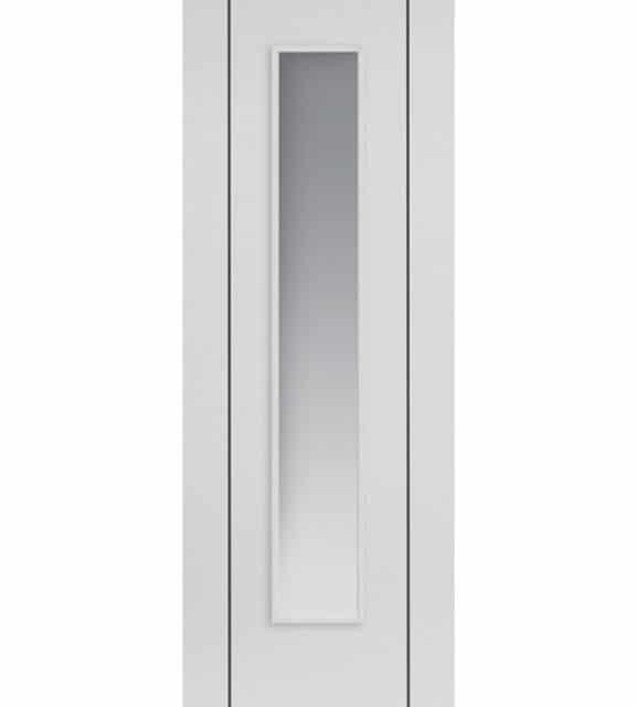 eco parelo white glass door