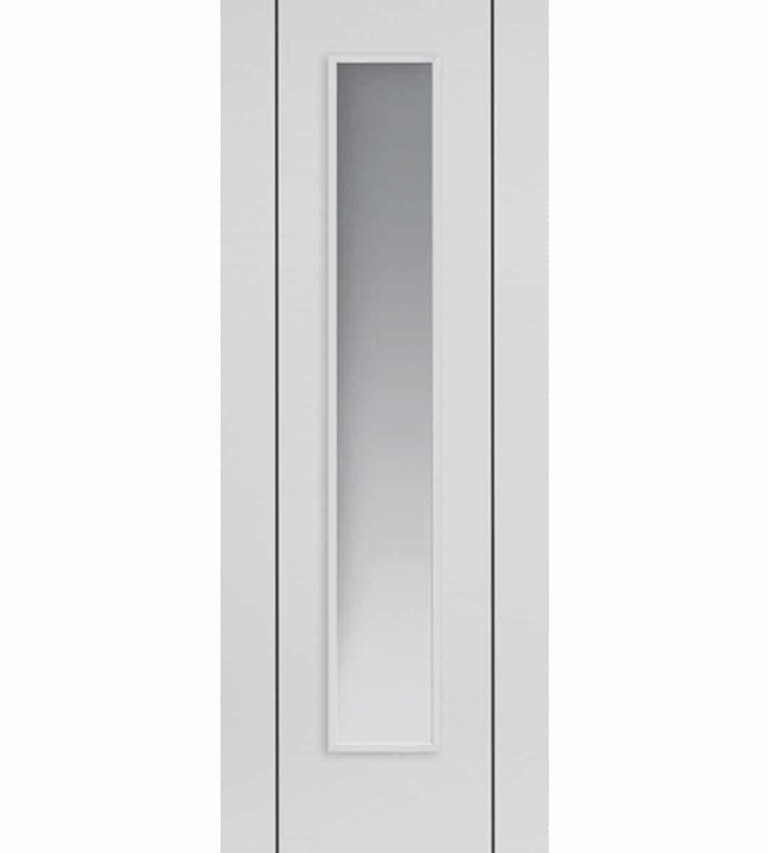 Eco parelo white internal glazed door shawfield doors for Eco doors