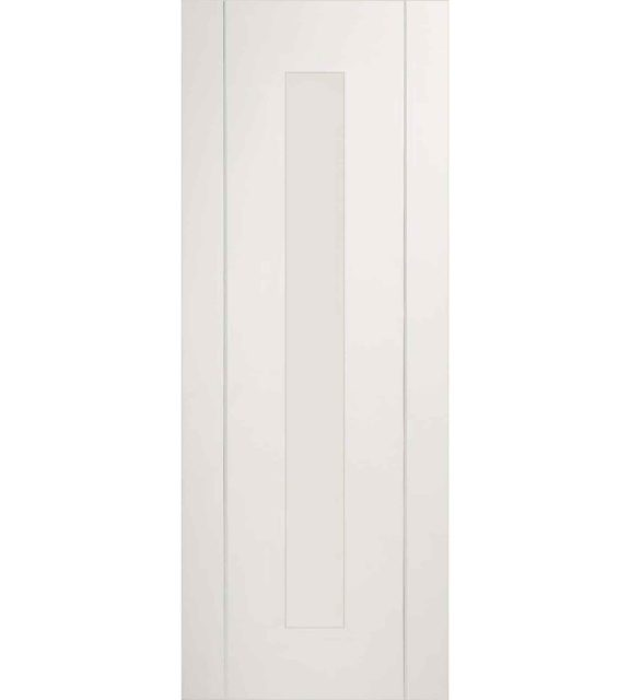 forli white clear glass door